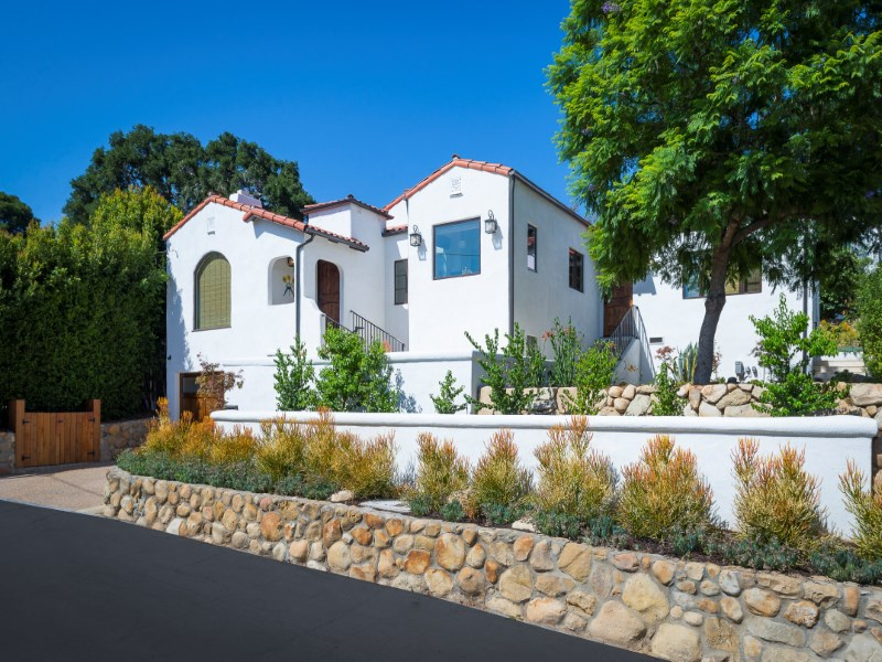 "Single Family Home for Sale at Enchanting ""Sunflower"" Remodel 2210 Las Rosas Lane Santa Barbara, California 93105 United States"
