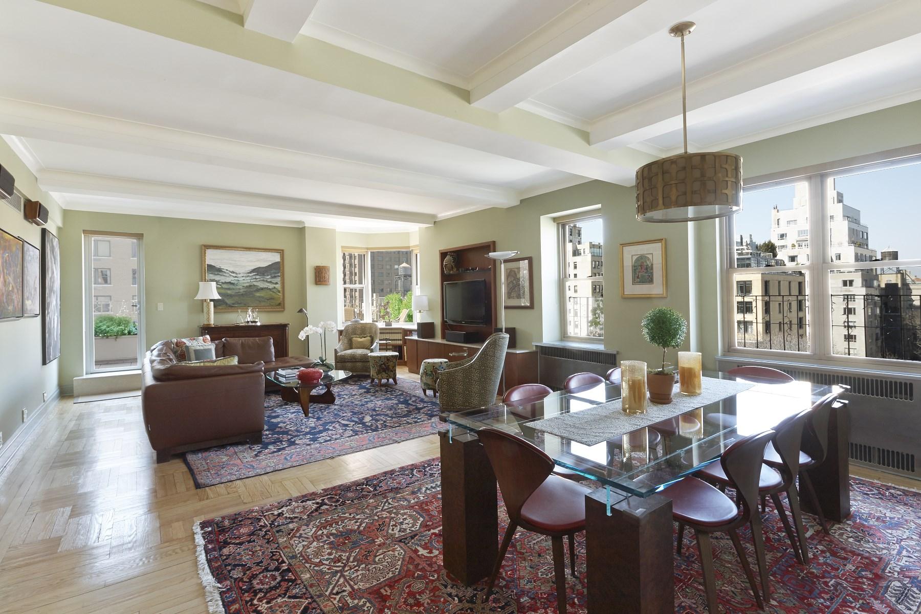 合作公寓 为 销售 在 Prime Park Avenue with Terraces 1150 Park Avenue Apt 10c Upper East Side, New York, 纽约州 10128 美国