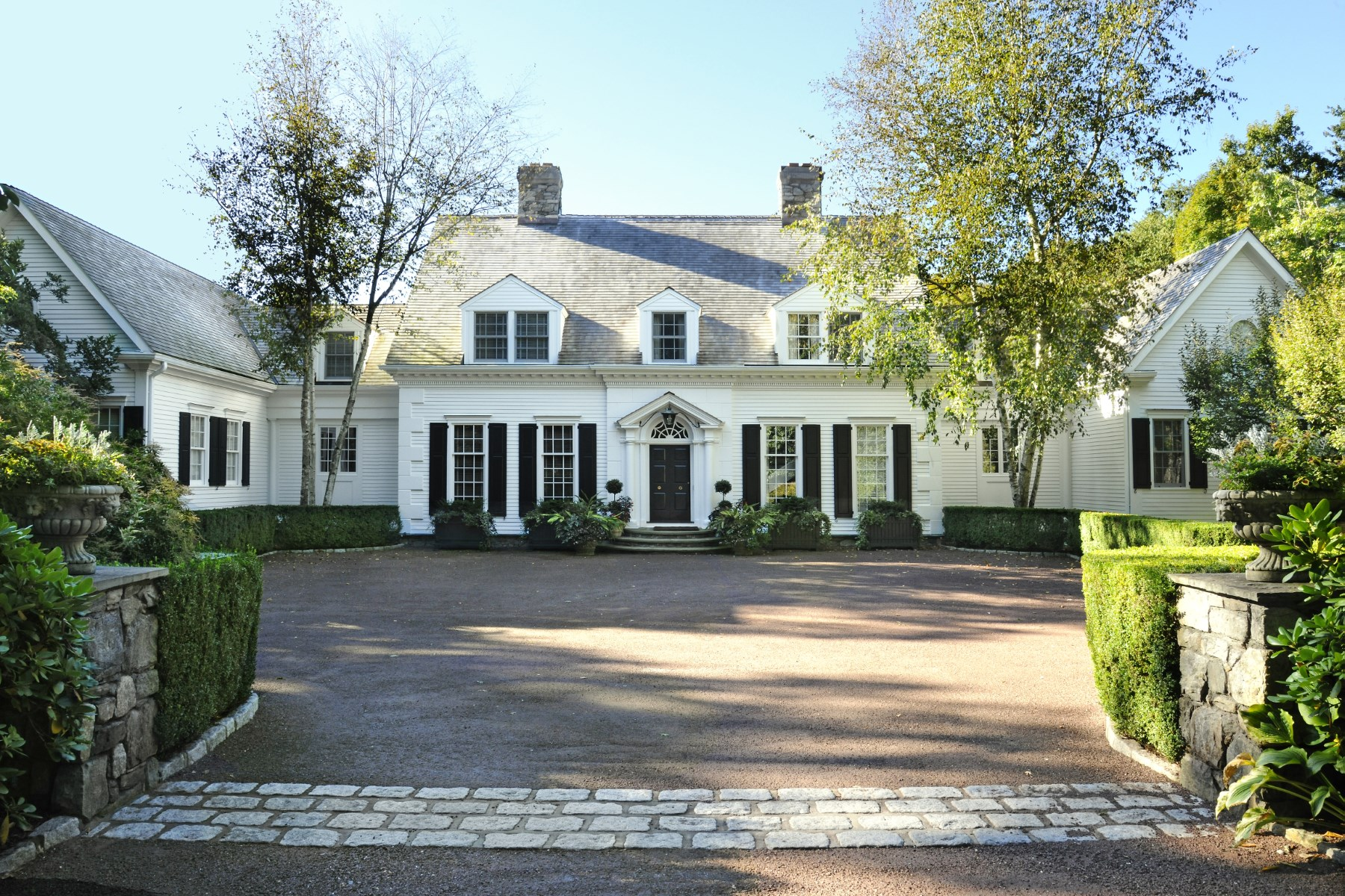 Single Family Home for Sale at Conyers Farm - Tremendous Estate 42 Lower Cross Road Greenwich, Connecticut 06831 United States