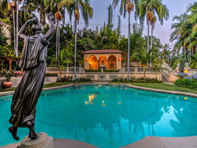 Single Family Home for Sale at Rare Magnificent Compound 4120 Cromwell Avenue Los Feliz, Los Angeles, California 90027 United States