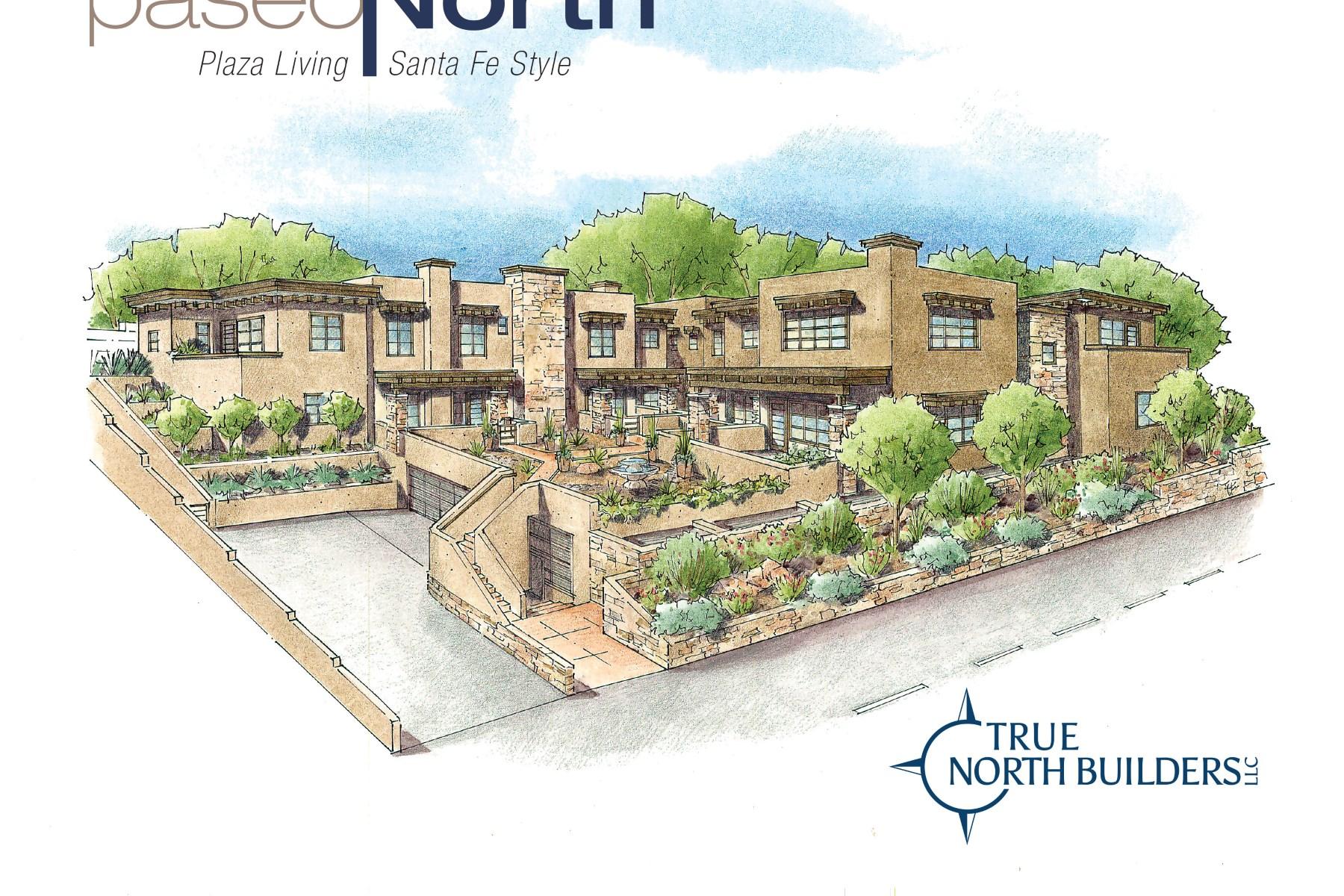 Appartement en copropriété pour l Vente à 511 Paseo De Peralta #1 Santa Fe City Northeast, Santa Fe, New Mexico 87501 États-Unis