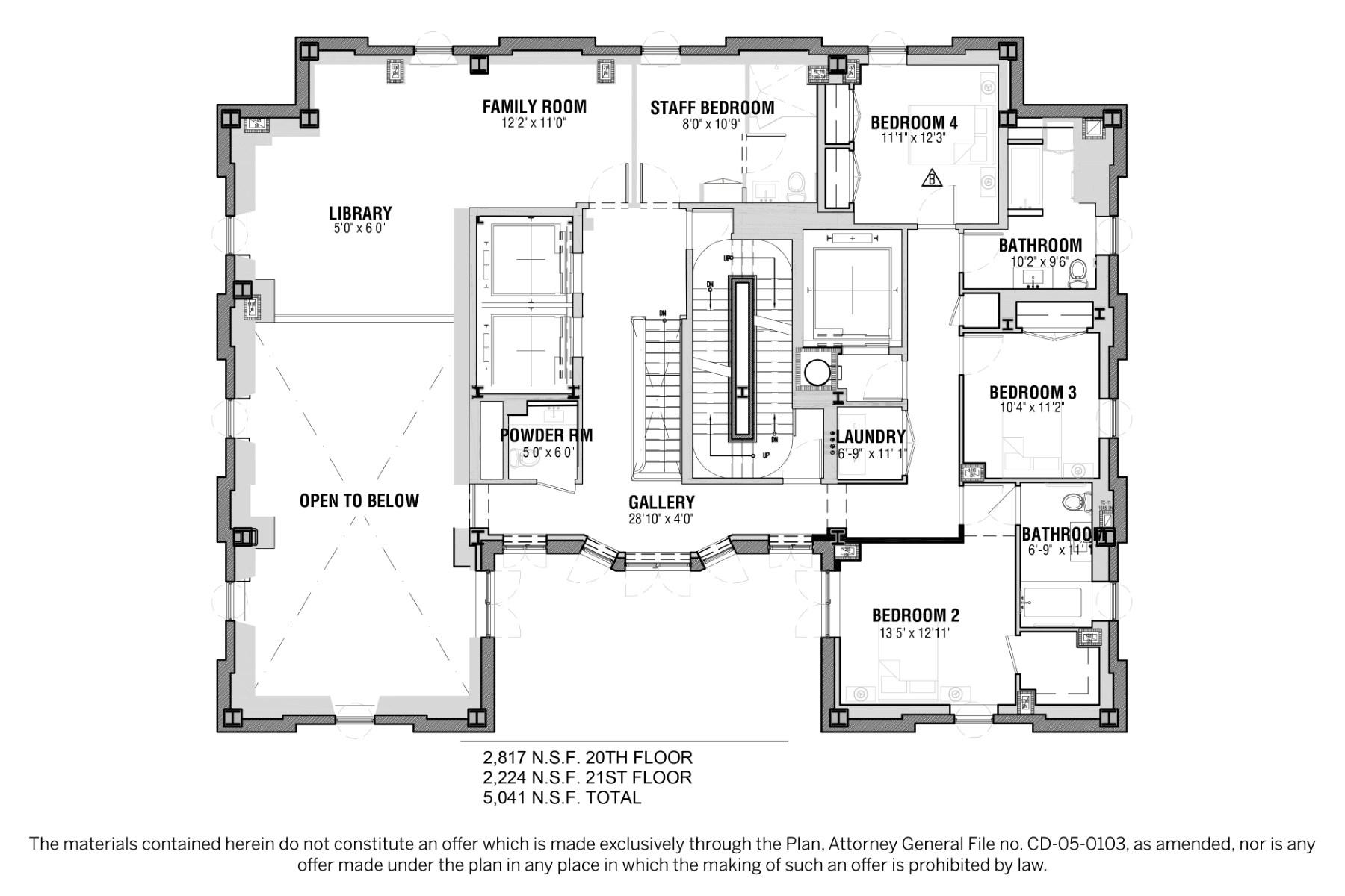 Property Of Prewar Sponsor Penthouse