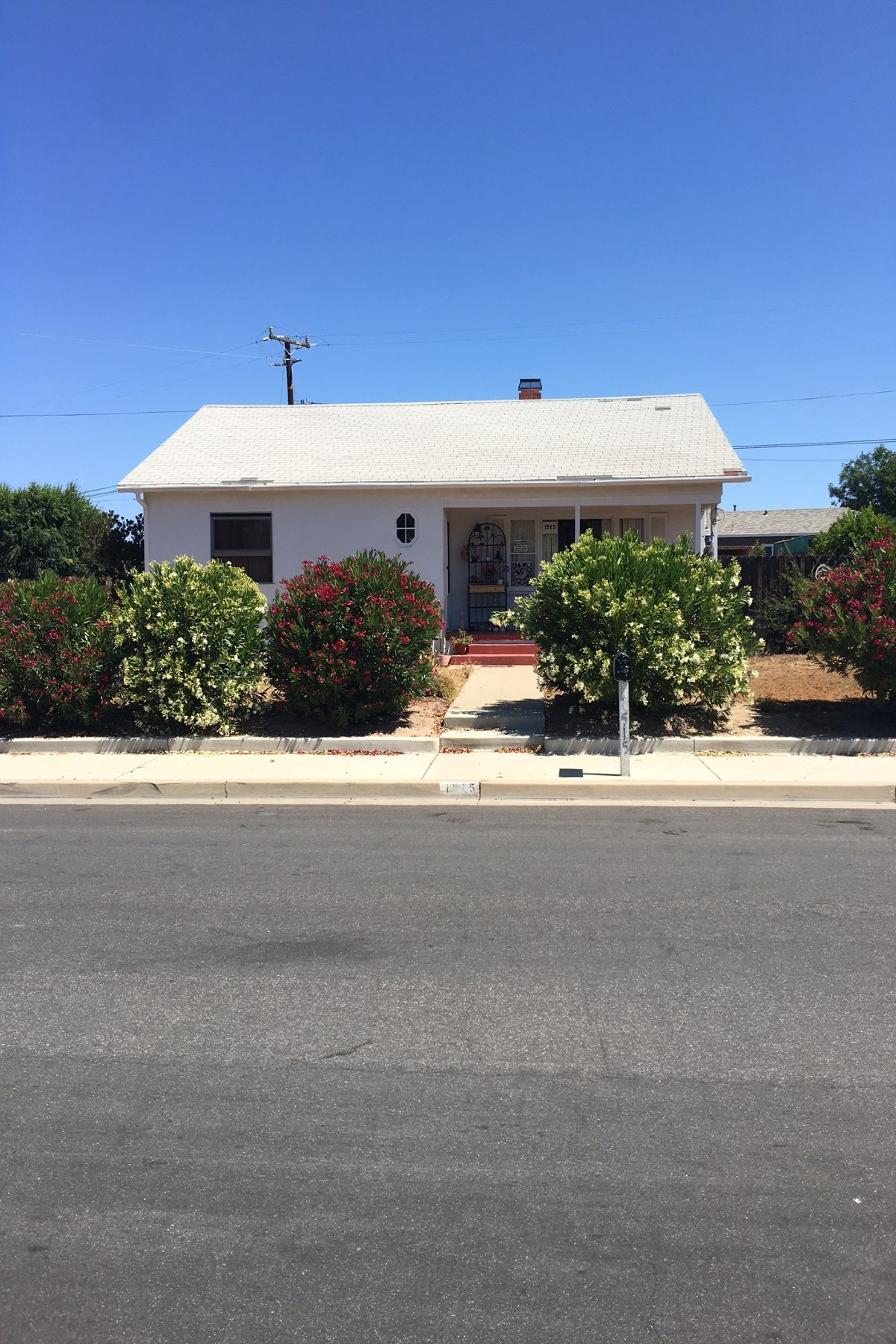 Single Family Home for Sale at Solvang Corner Lot With 1950s Home 1515 Elm Avenue Solvang, California, 93463 United States