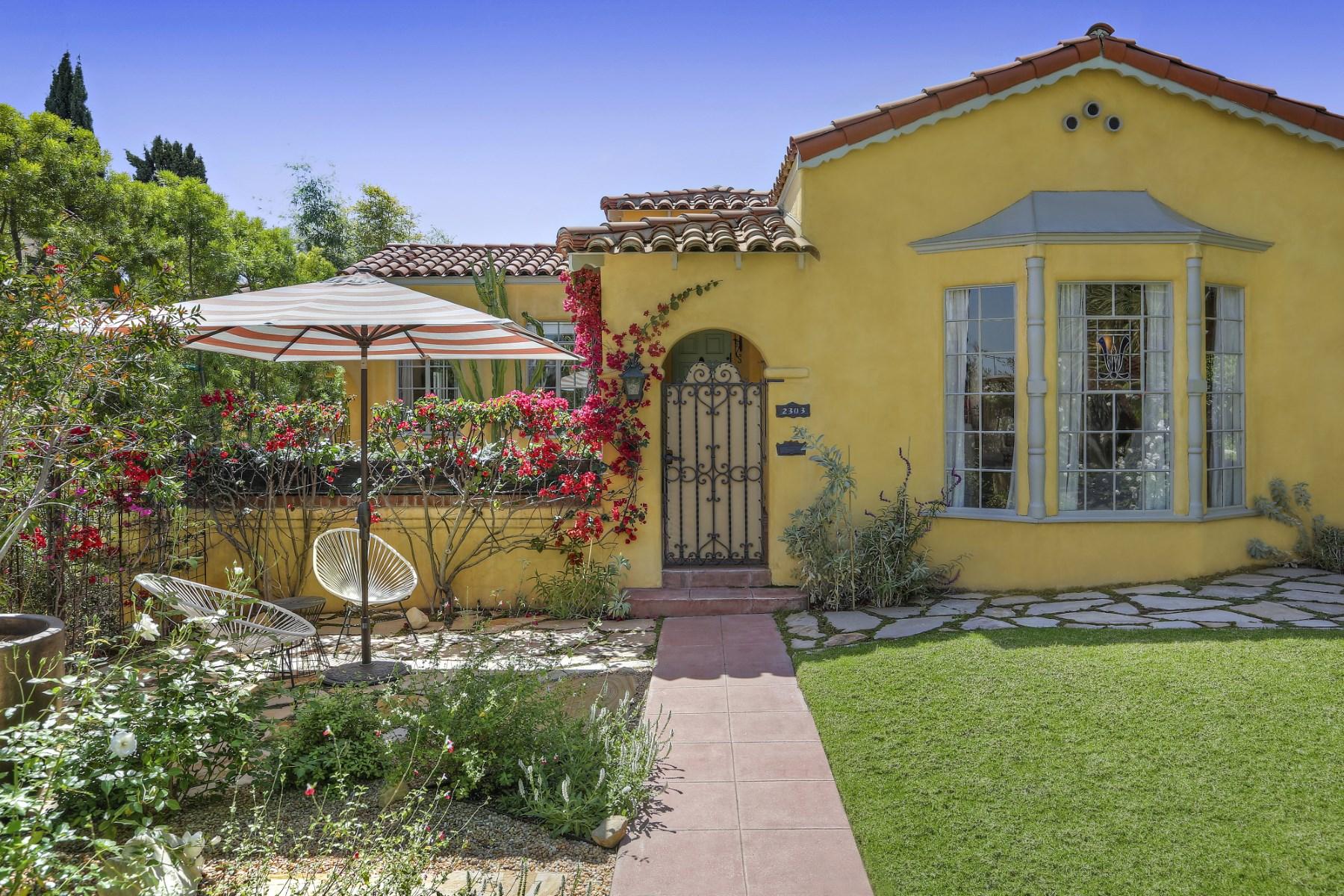Single Family Home for Sale at 2303 Wayne Avenue Los Feliz, Los Angeles, California, 90027 United States