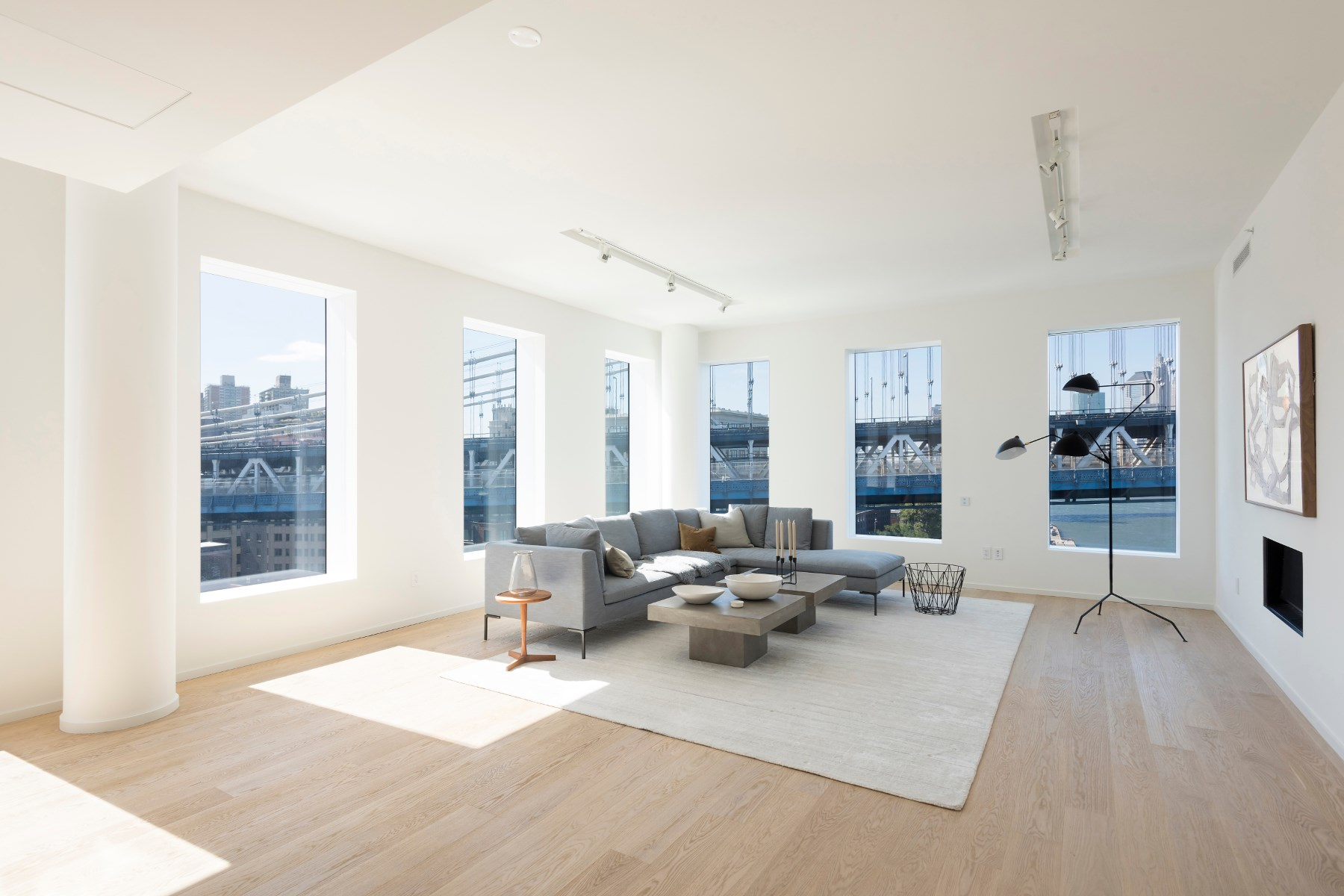 Appartement en copropriété pour l Vente à 1 John Street, PHA 1 John Street Apt PHA Dumbo, Brooklyn, New York, 11201 États-Unis