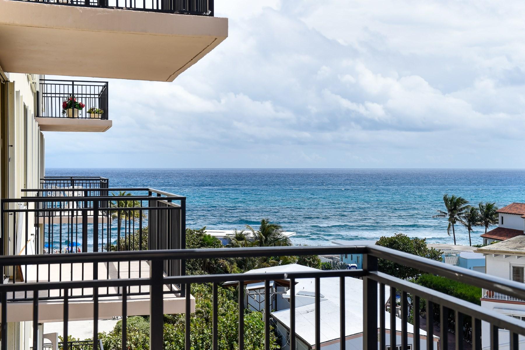 Eigentumswohnung für Verkauf beim Elegant Beachfront Condo 3475 S Ocean Blvd Apt 601 Palm Beach, Florida 33480 Vereinigte Staaten
