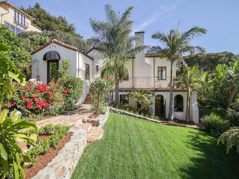 Maison unifamiliale pour l Vente à Stunning View Mediterranean 56 Sunshine Ave Sausalito, Californie 94965 États-Unis