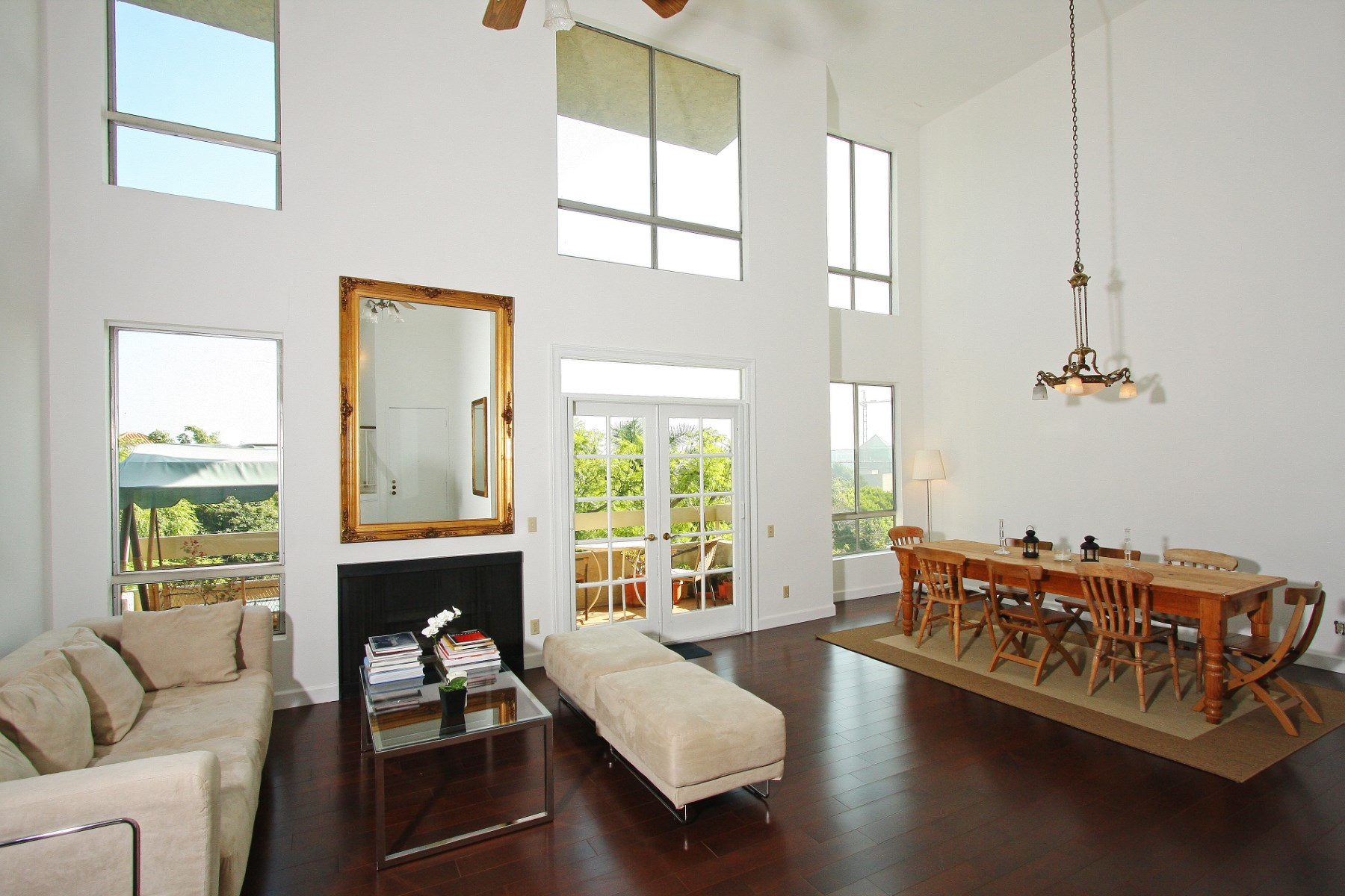 rentals property at Gorgeous WeHo 2 Story Condo