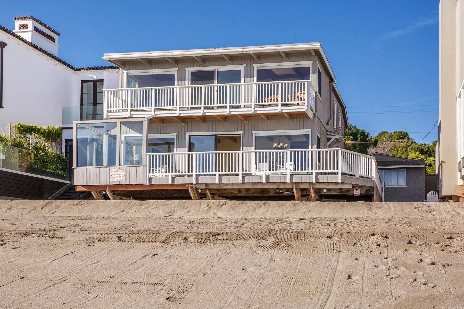 Maison unifamiliale pour l Vente à Ocean View Escondido Beach 27208 Pacific Coast Highway Malibu, Californie, 90265 États-Unis