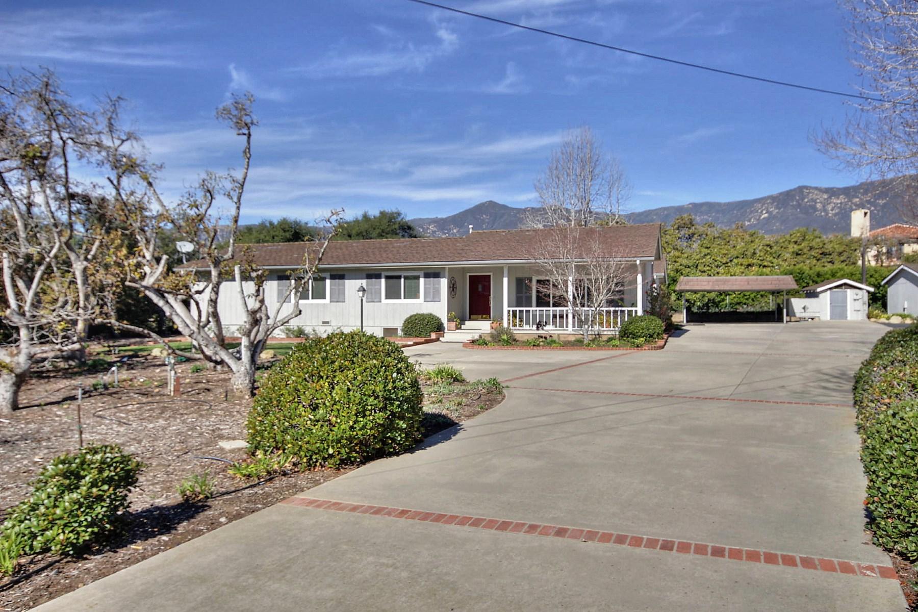 Single Family Home for Sale at Montecito Home, Prime Location. 120 Tiburon Bay Lane Montecito, California 93108 United States