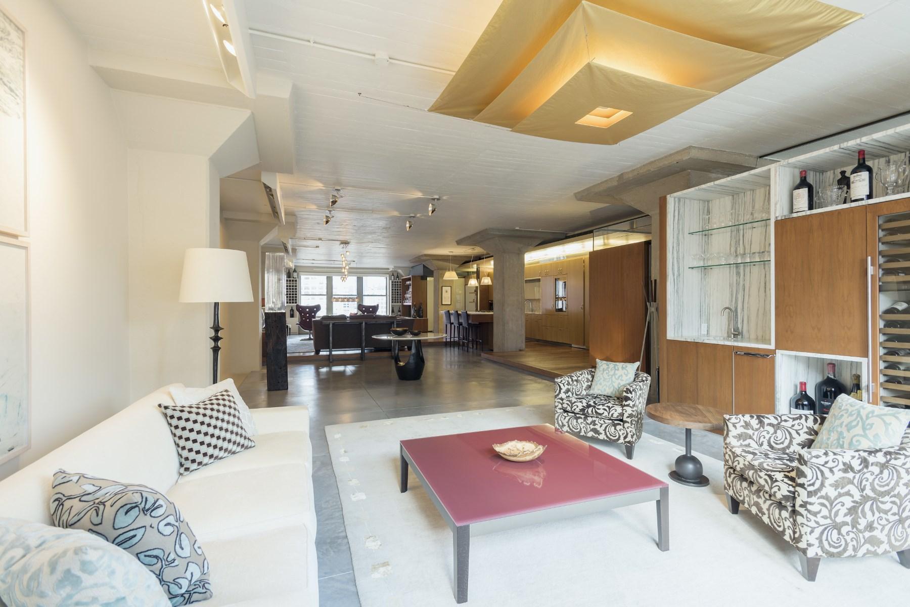 Condominio per Vendita alle ore Prime Atalanta Loft 25 North Moore Street Apt 9a Tribeca, New York, New York 10013 Stati Uniti