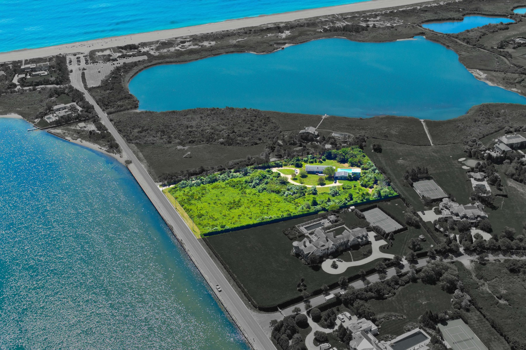 Property For Sale at Direct Mecox Bay Waterview