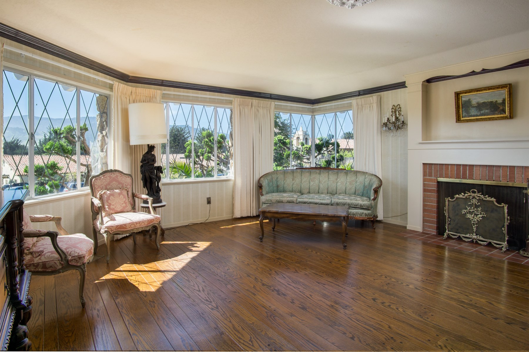 Single Family Home for Sale at Prominent Home by the Carmel Mission 3037 Lasuen Drive Carmel, California, 93923 United States