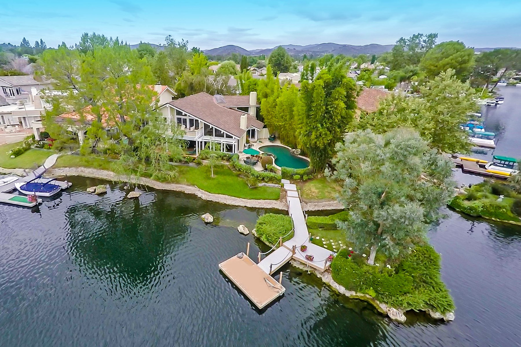 Single Family Home for Sale at Ultimate Island Paradise Westlake Village, California 91361 United States