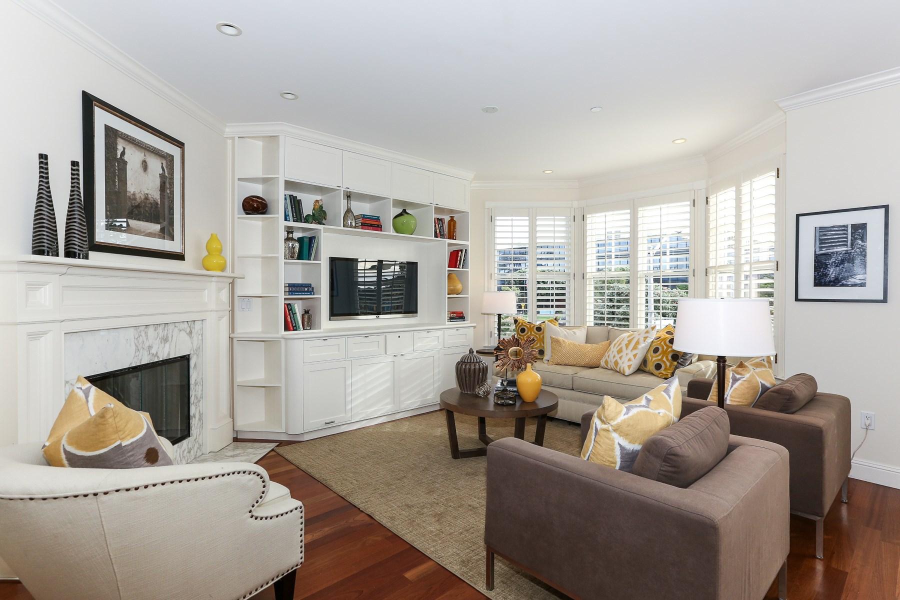 共管物業 為 出售 在 Extraordinary Four-Bedroom Duplex in Presidio Heights 3316 California St Apt 3 Presidio Heights, San Francisco, 加利福尼亞州 94118 美國