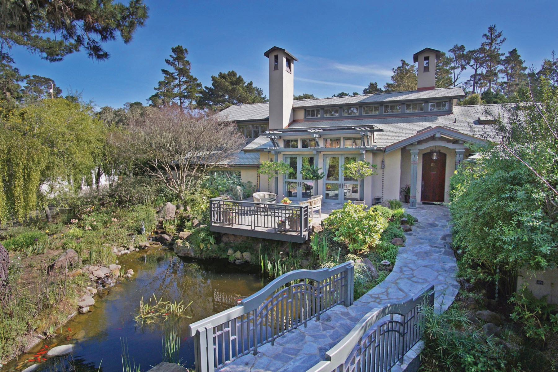 Single Family Home for Sale at Serenity in Pebble Beach 1031 Lost Barranca Road Pebble Beach, California, 93953 United States