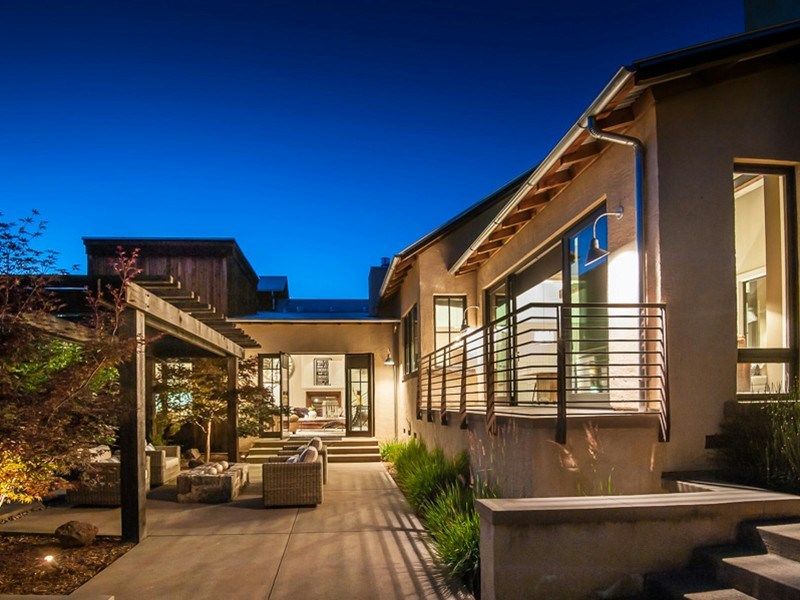 Single Family Home for Sale at Modern Sonoma Barn 232 2nd St E Sonoma, California 95476 United States