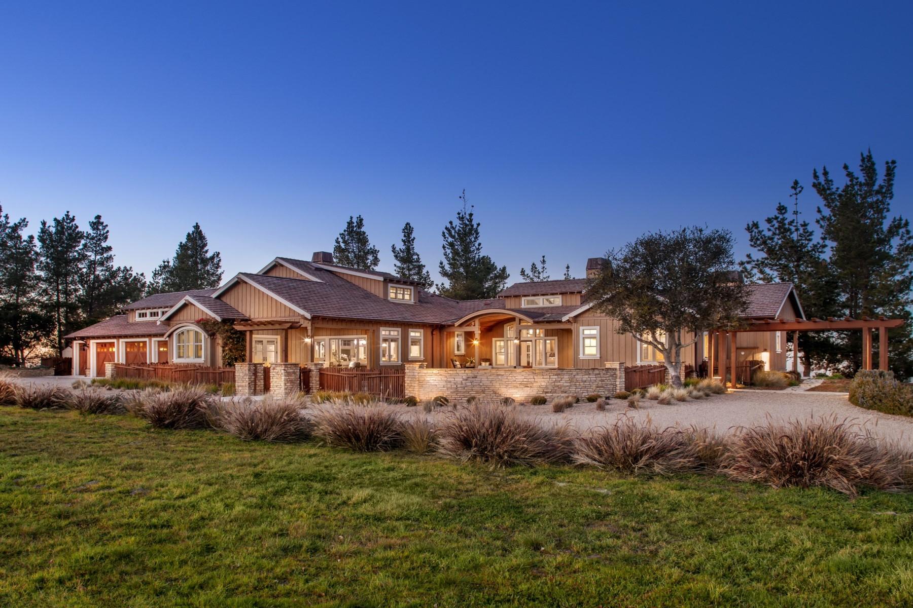 Nhà ở một gia đình vì Bán tại 360 Degree Views in Tehama 25560 Via Malpaso Carmel, California 93923 Hoa Kỳ