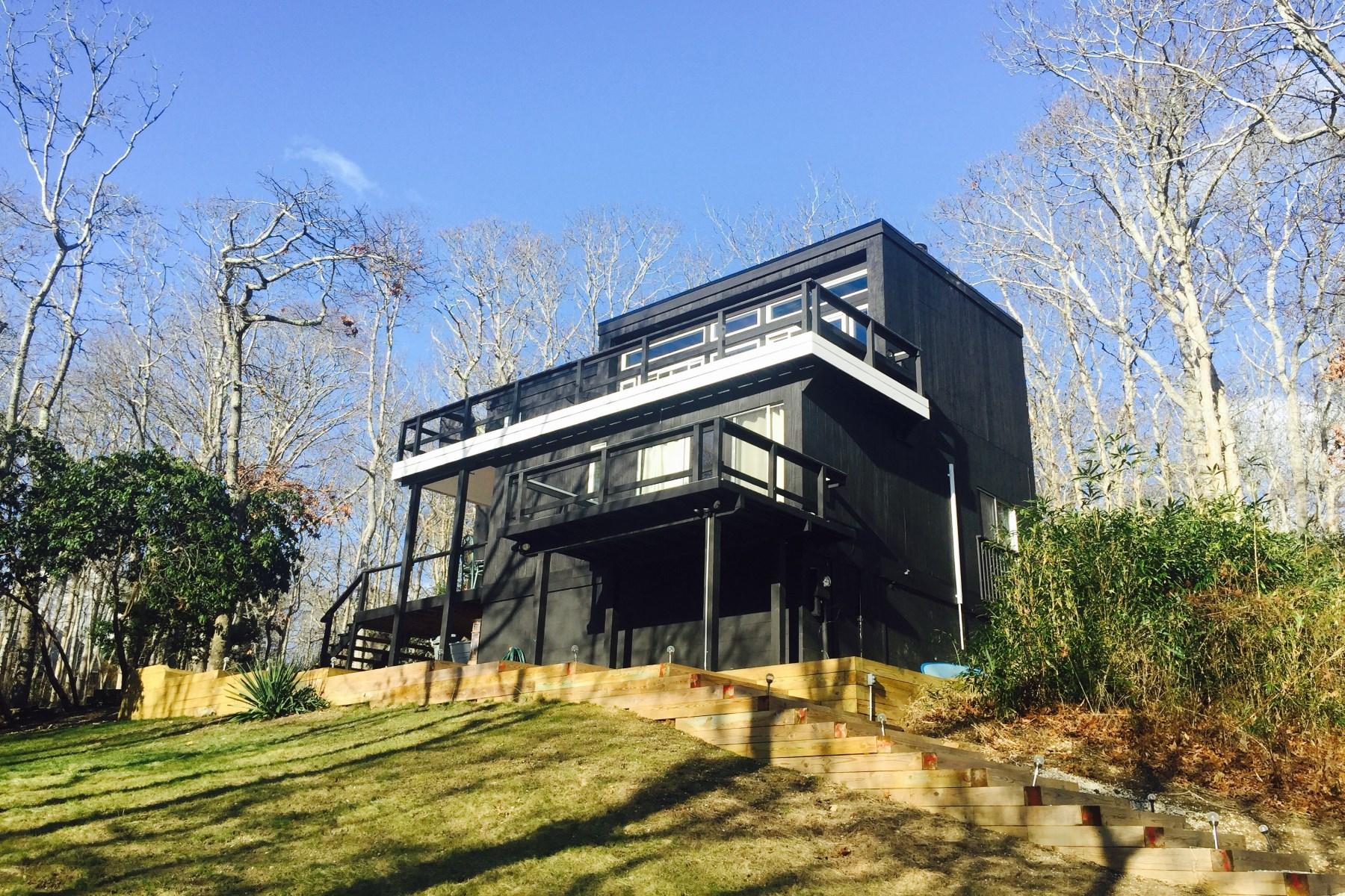 Tek Ailelik Ev için Satış at Ocean Views in Montauk 15 Elm Lane Montauk, New York, 11954 Amerika Birleşik Devletleri