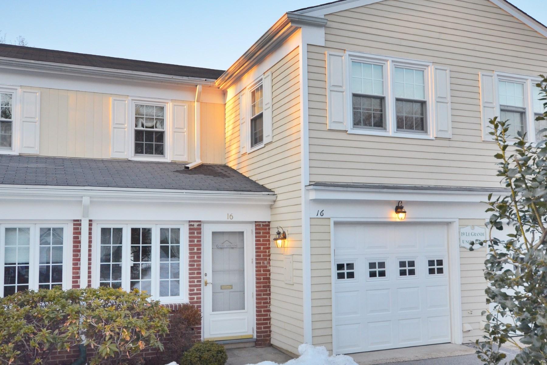 Condominium for Sale at In-Town Condo 19 Le Grande Avenue, Unit 16 Central Greenwich, Greenwich, Connecticut, 06830 United States