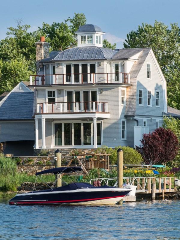 獨棟家庭住宅 為 出售 在 Lucas Point Waterfront 5 North Crossway Old Greenwich, 康涅狄格州 06870 美國