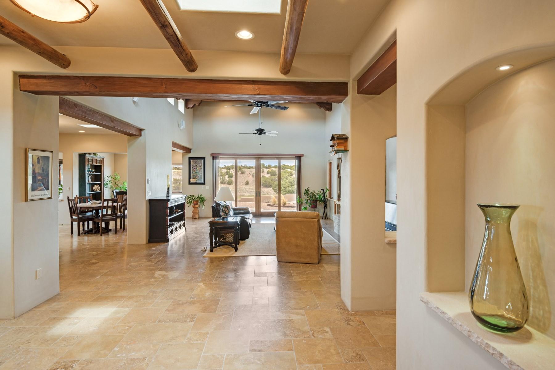 Single Family Home for Sale at 4 Plaza Ortega Las Campanas & Los Santeros, Santa Fe, New Mexico, 87506 United States