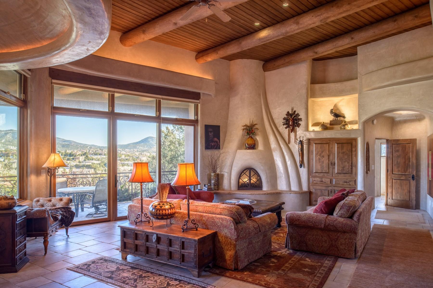 Maison unifamiliale pour l Vente à 600 Los Altos Norte Santa Fe City Northeast, Santa Fe, New Mexico, 87501 États-Unis
