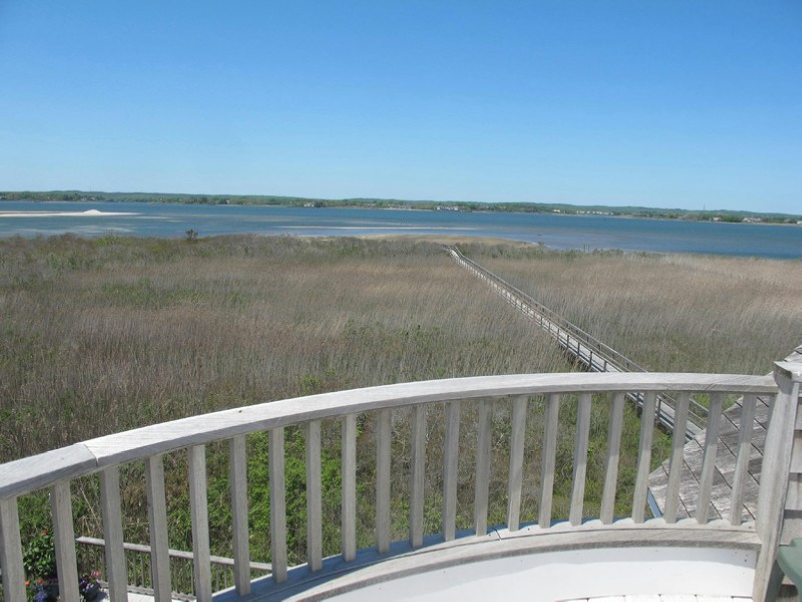 rentals property at Dune Road- Bayfront and Ocean View