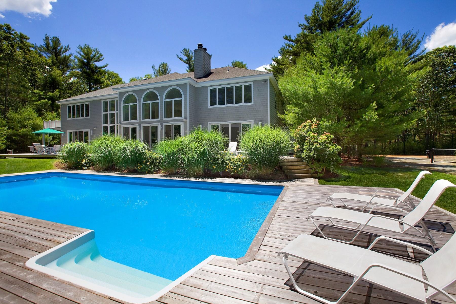 Einfamilienhaus für Vermietung beim Private Estate East Hampton, New York, 11937 Vereinigte Staaten