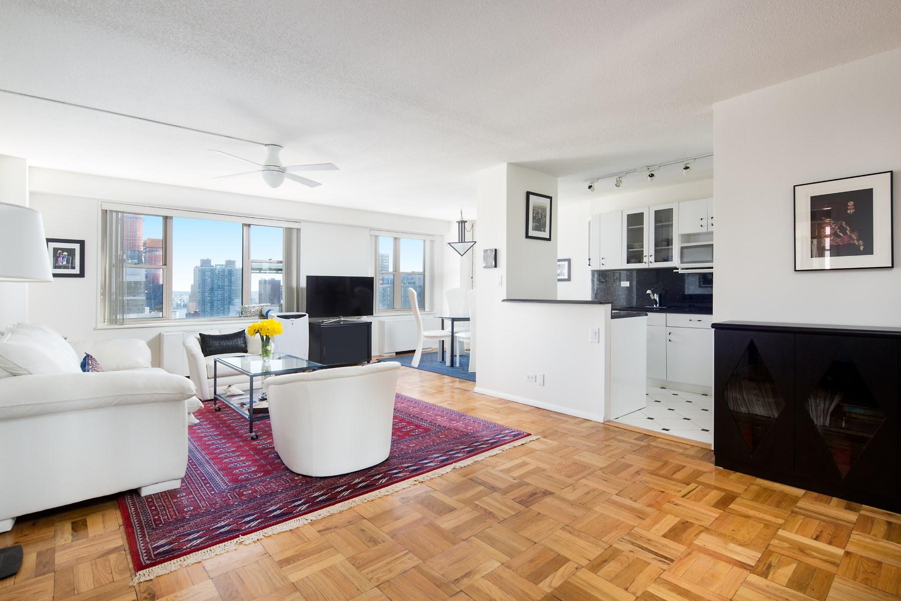 Кооперативная квартира для того Продажа на 137 East 36th Street, Apt 19C 137 East 36th Street Apt 19C Murray Hill, New York, Нью-Йорк, 10016 Соединенные Штаты