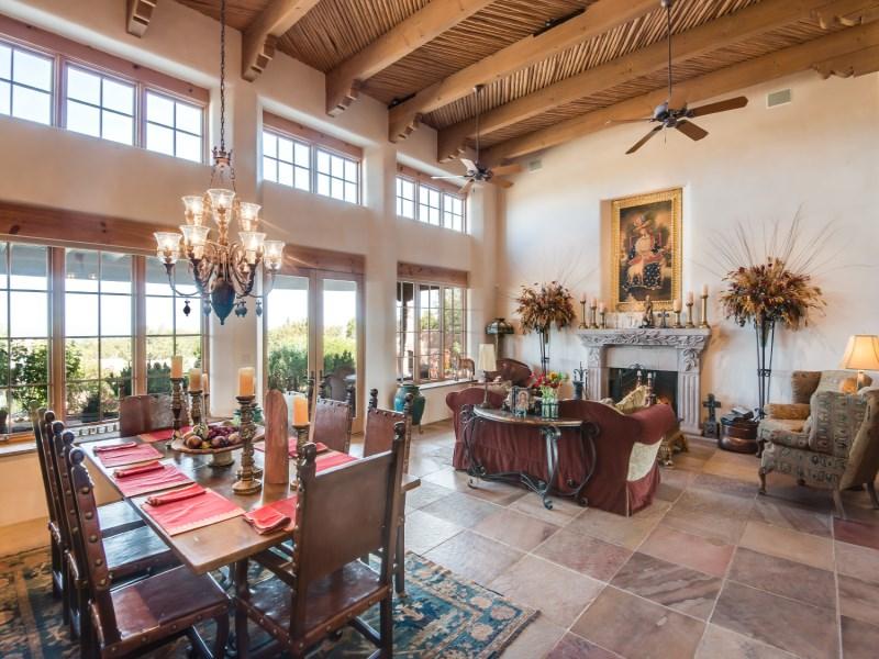 Single Family Home for Sale at Las Campanas 84 W. Wildflower & 51 Sunflower Las Campanas & Los Santeros, Santa Fe, New Mexico 87506 United States