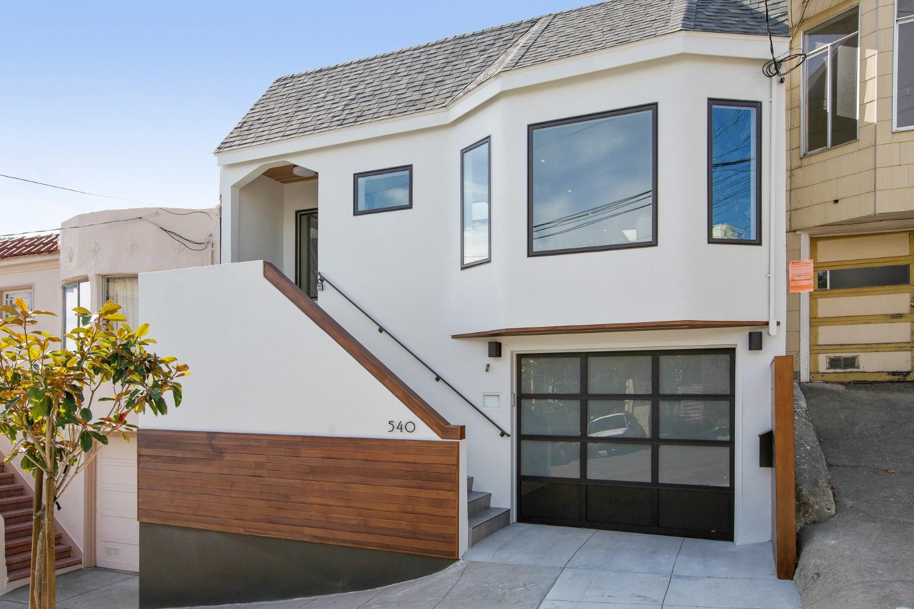 獨棟家庭住宅 為 出售 在 Urban Retreat in the Sun 540 Texas St San Francisco, 加利福尼亞州 94107 美國