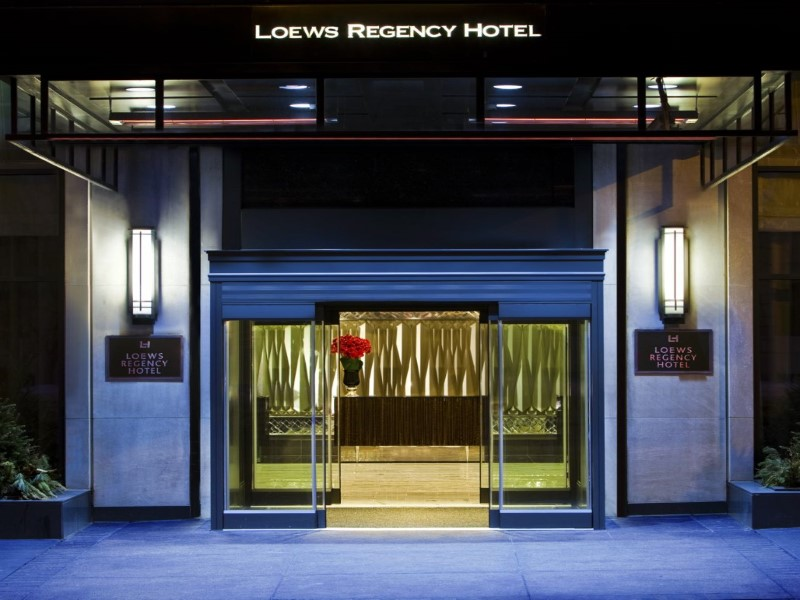 Property Of 540 Park Avenue, Loews Regency Hotel