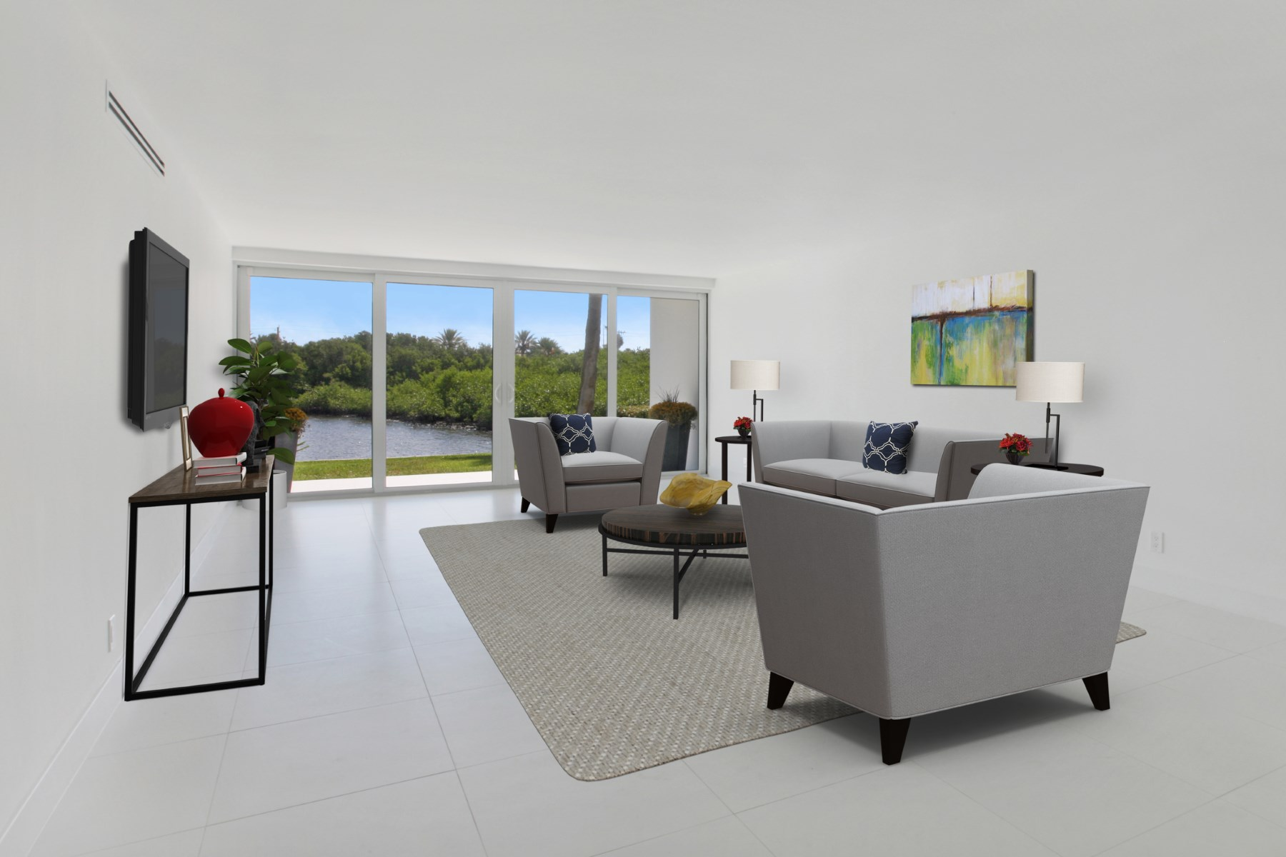 Condomínio para Venda às Palm Beach Goes Modern 2195 Ibis Isle Rd Apt 4 Palm Beach, Florida, 33480 Estados Unidos