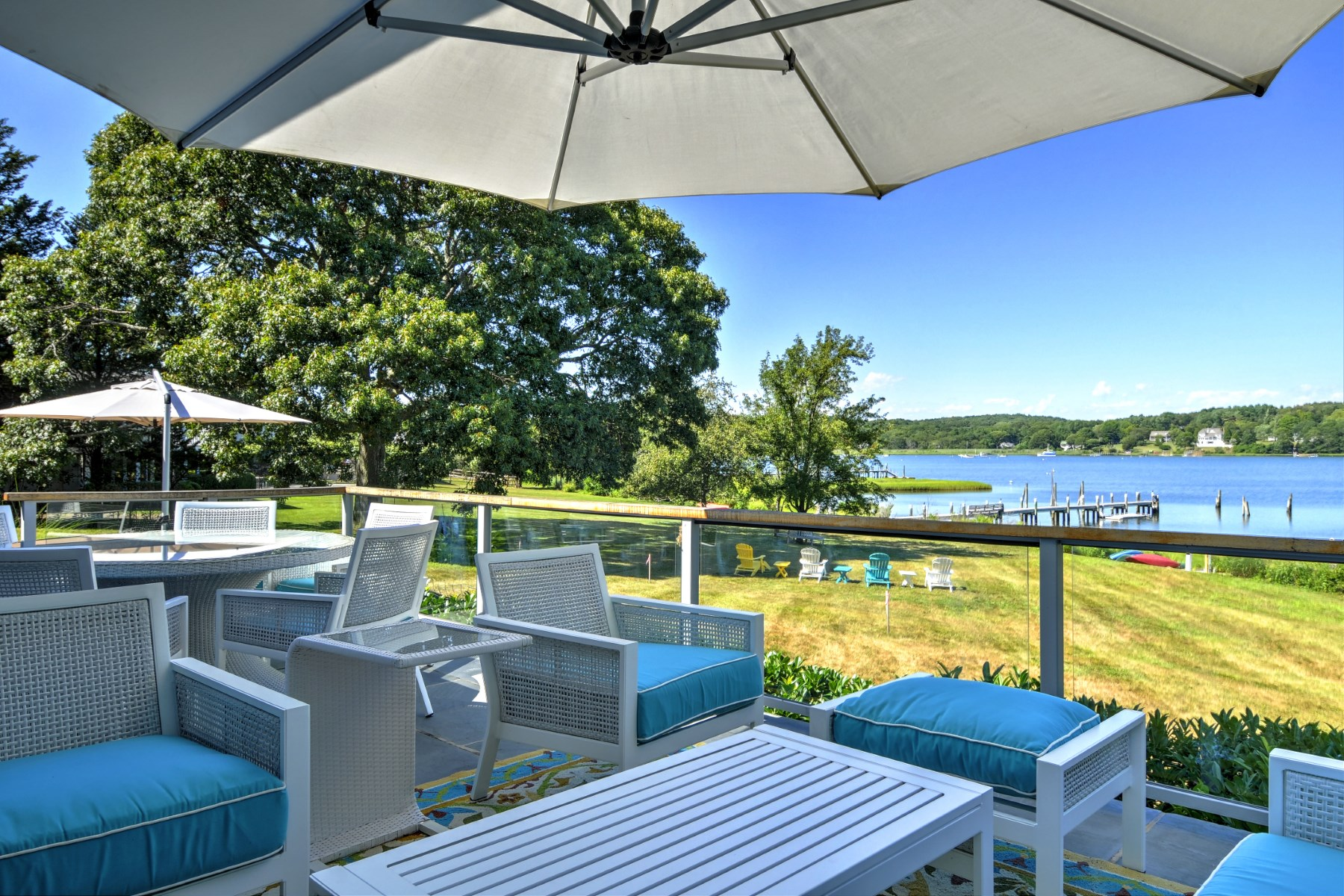 Single Family Home for Sale at Private Bayfront Traditional Shelter Island, New York, 11964 United States