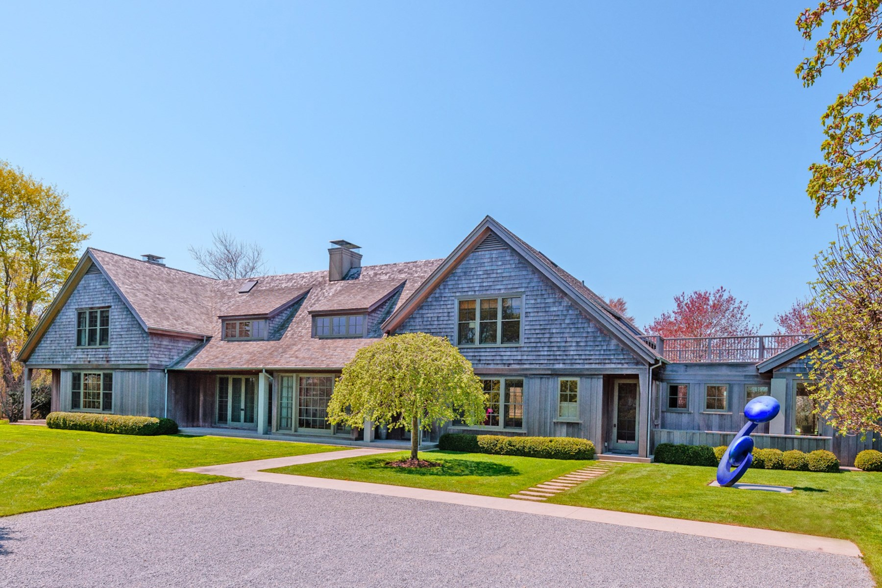 Single Family Home for Sale at A Block From The Beach 37 Wainscott Main Street Wainscott, New York 11975 United States