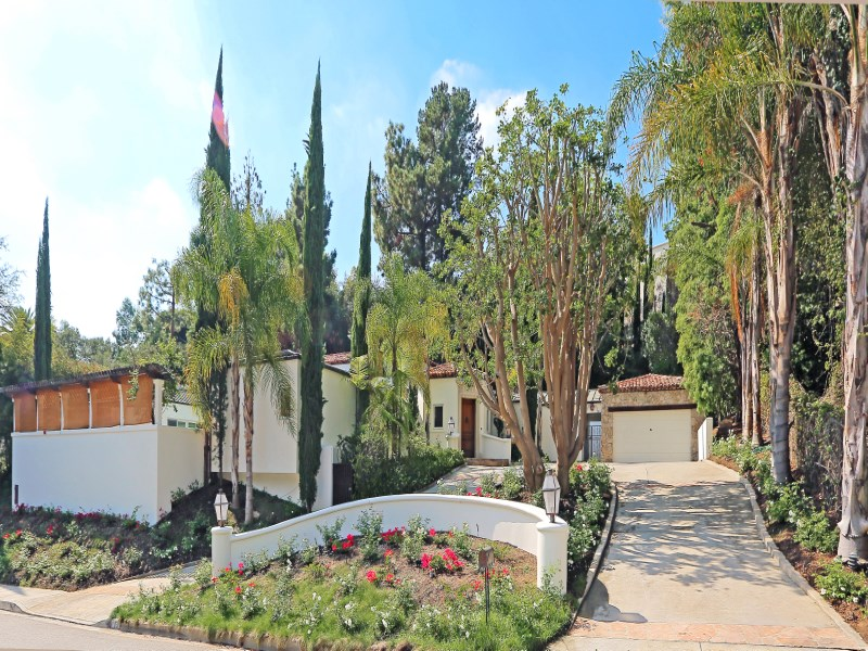 Property For Sale at Chic Beverly Hills Mediterranean Villa