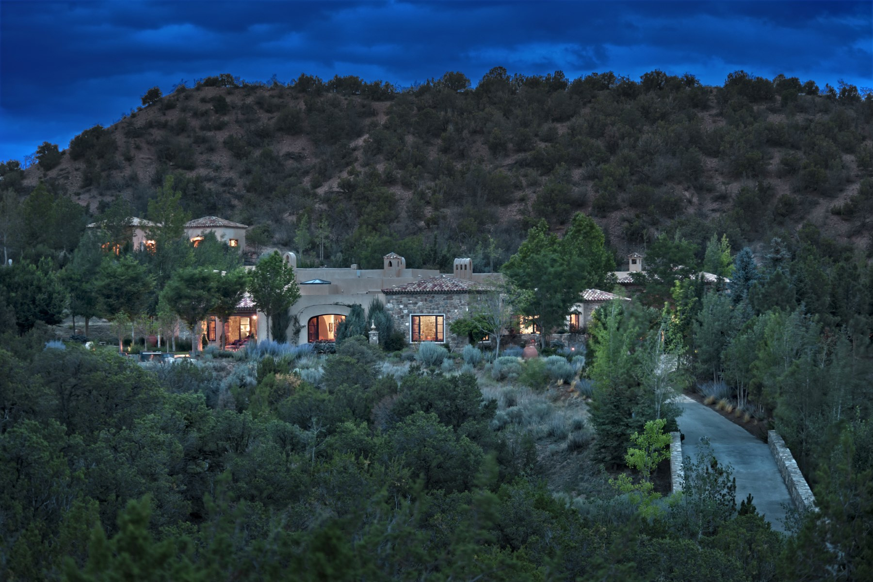 Single Family Home for Sale at Tesuque Ridge Santa Fe, New Mexico, 87506 United States
