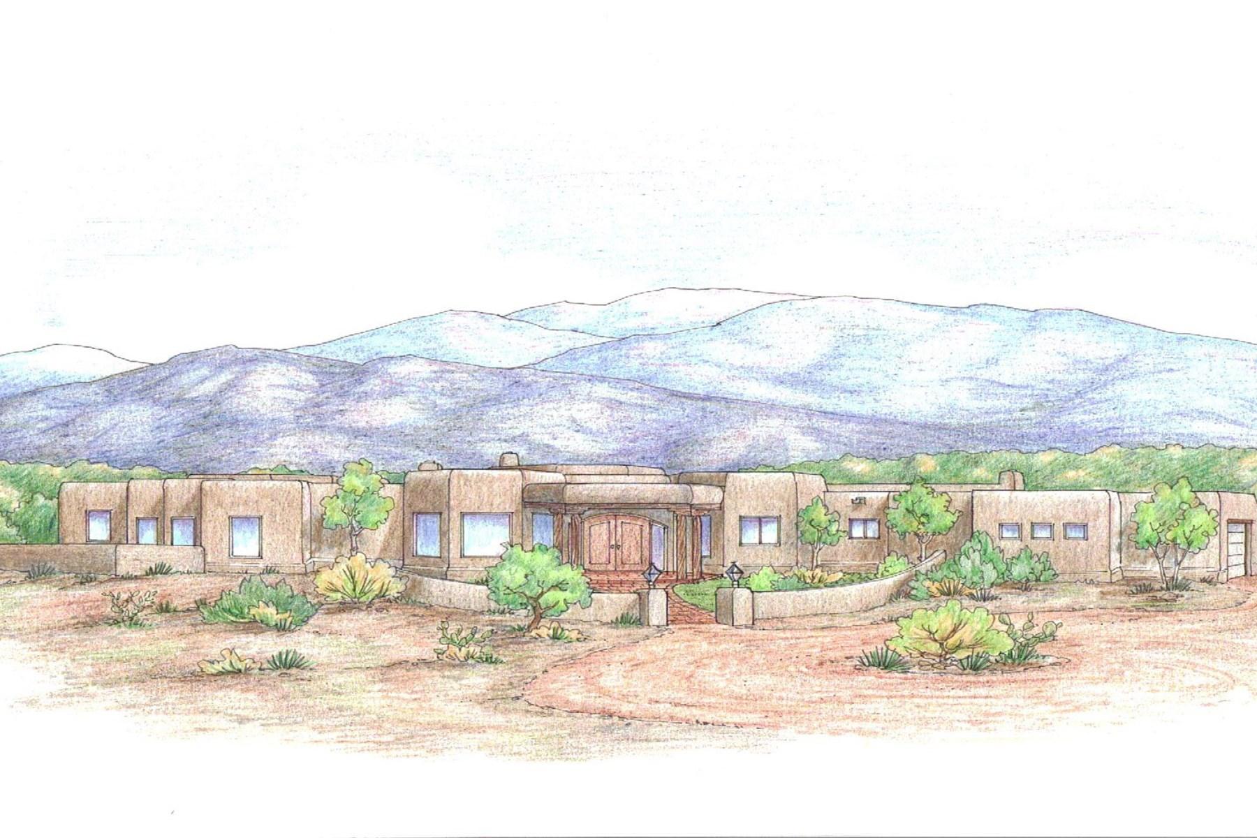 Maison unifamiliale pour l Vente à 10 Sendero De La Vida Santa Fe City Northwest, Santa Fe, New Mexico 87506 États-Unis