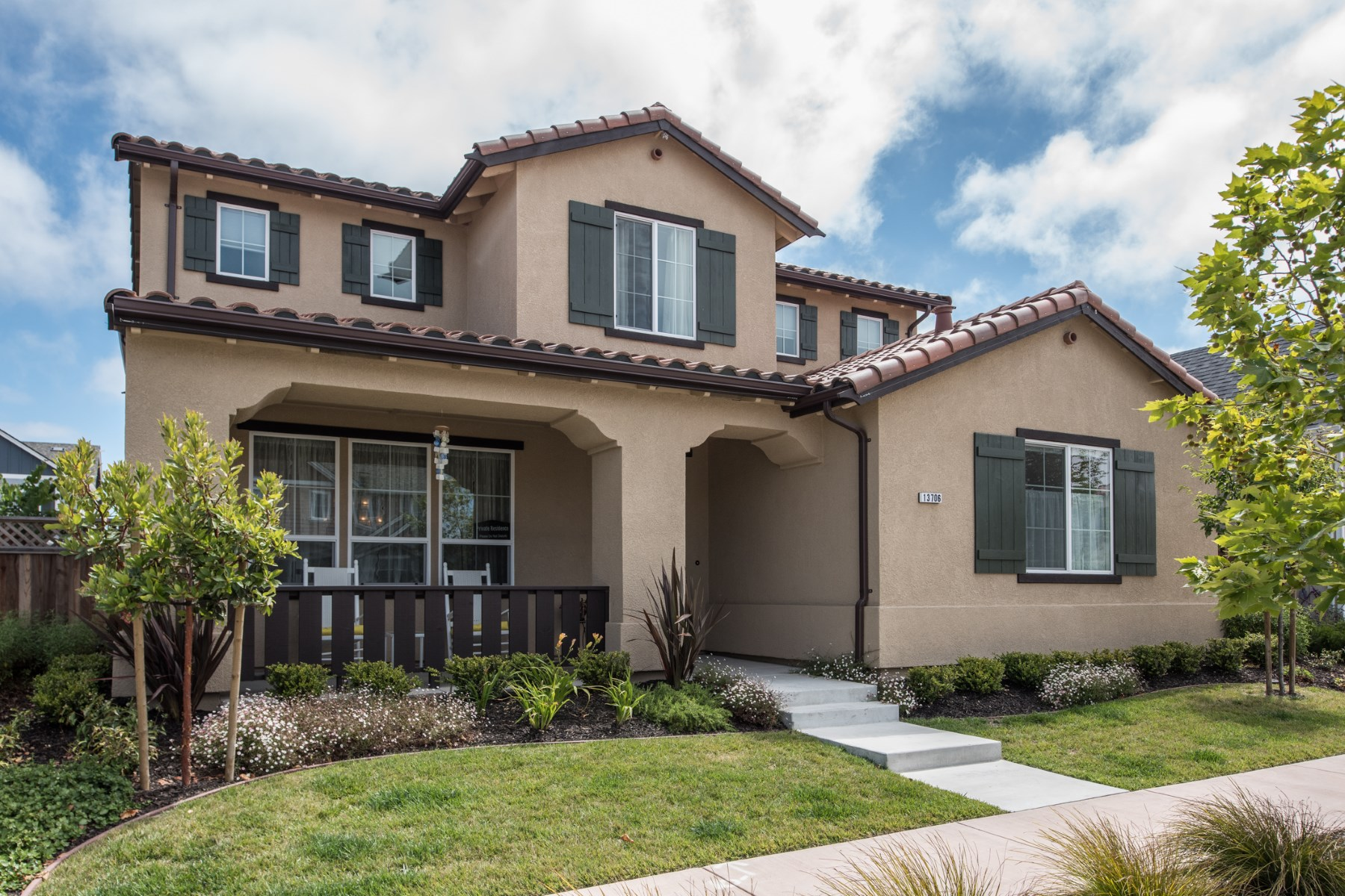 Single Family Home for Sale at New Mediterranean Home 13706 Sherman Boulevard Marina, California, 93933 United States