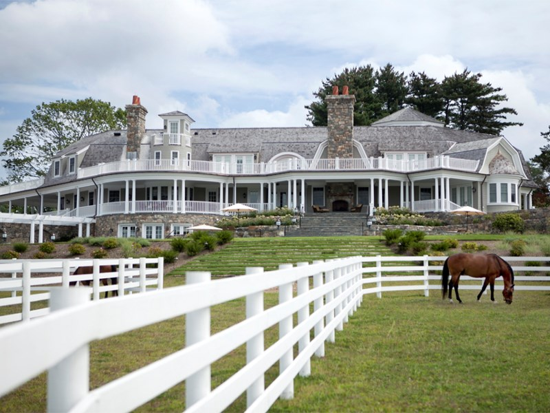Maison unifamiliale pour l Vente à Greenwich Equestrian Estate 429 Taconic Road Greenwich, Connecticut 06831 États-Unis