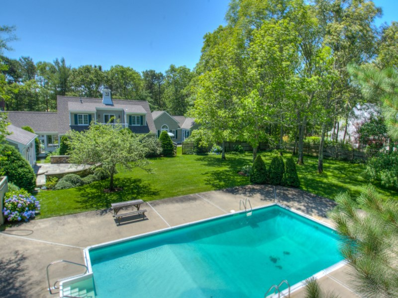 Single Family Home for Sale at Private Wianno Estate 103 Garrison Lane Osterville, Massachusetts 02655 United States