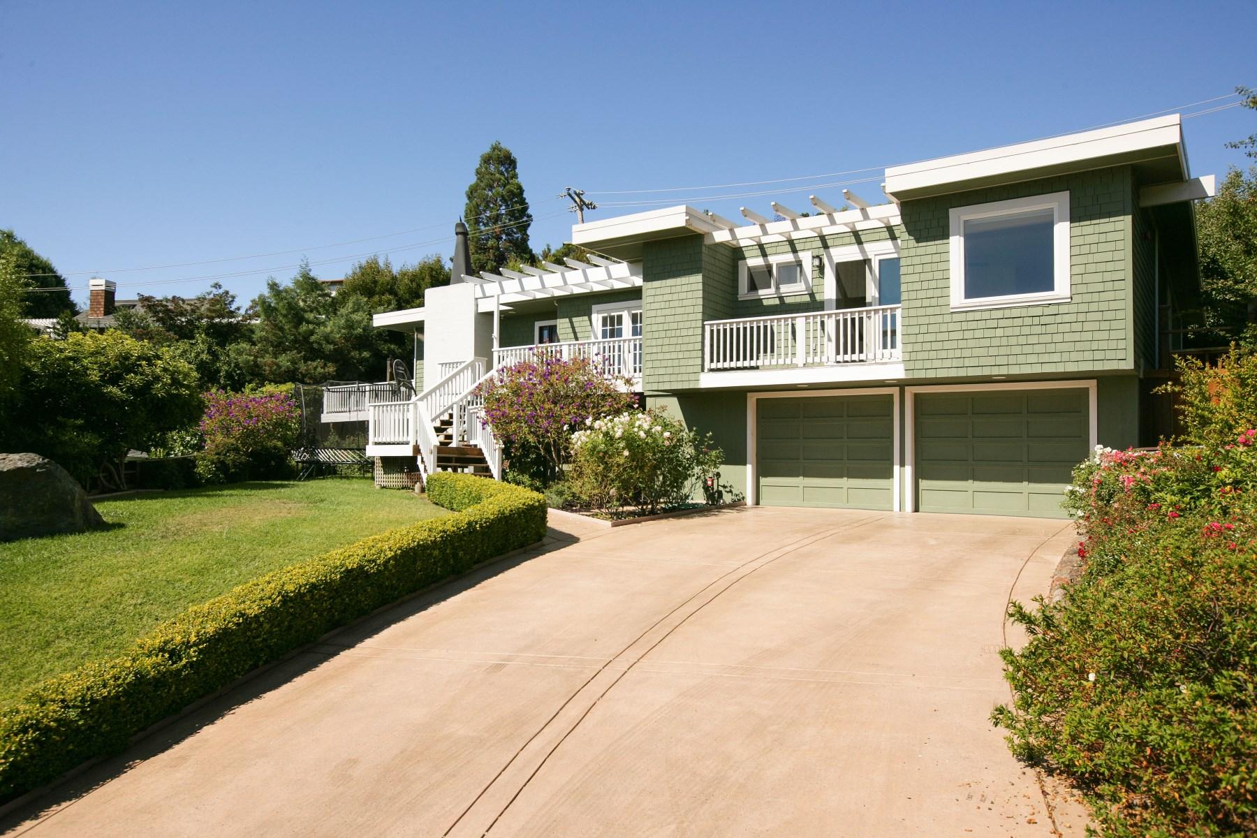 Vivienda unifamiliar por un Venta en Reedlands Home 37 Terrace Ct Tiburon, California, 94920 Estados Unidos