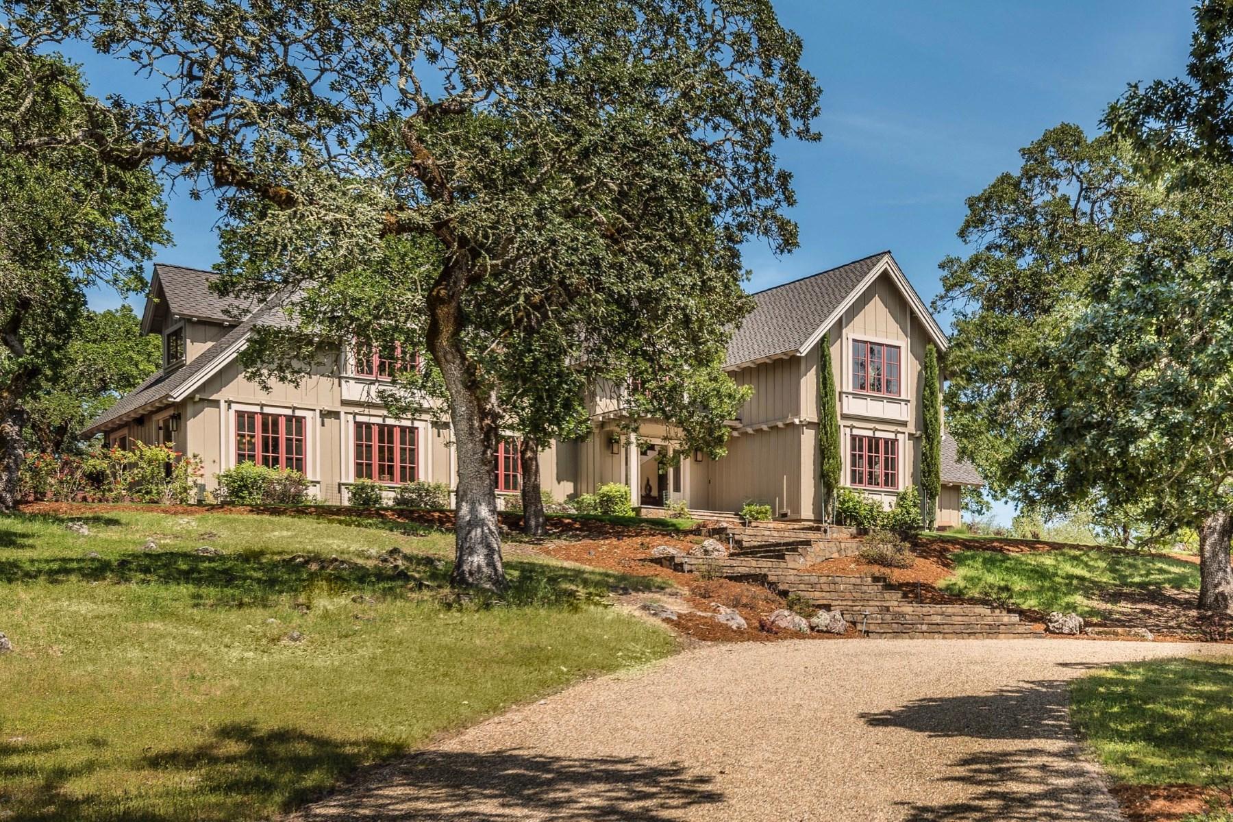 独户住宅 为 销售 在 Exquisite Custom Craftsman 1230 White Oak Dr 圣罗莎, 加利福尼亚州, 95409 美国