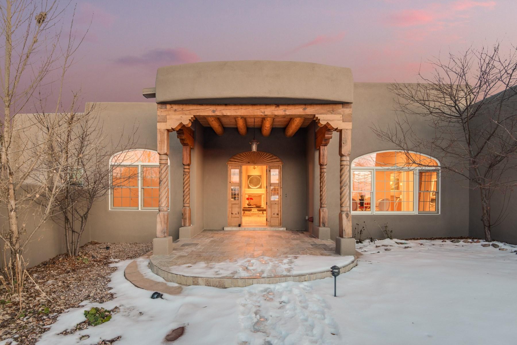 Casa para uma família para Venda às 113 Tierra Rica Santa Fe, Novo México 87505 Estados Unidos