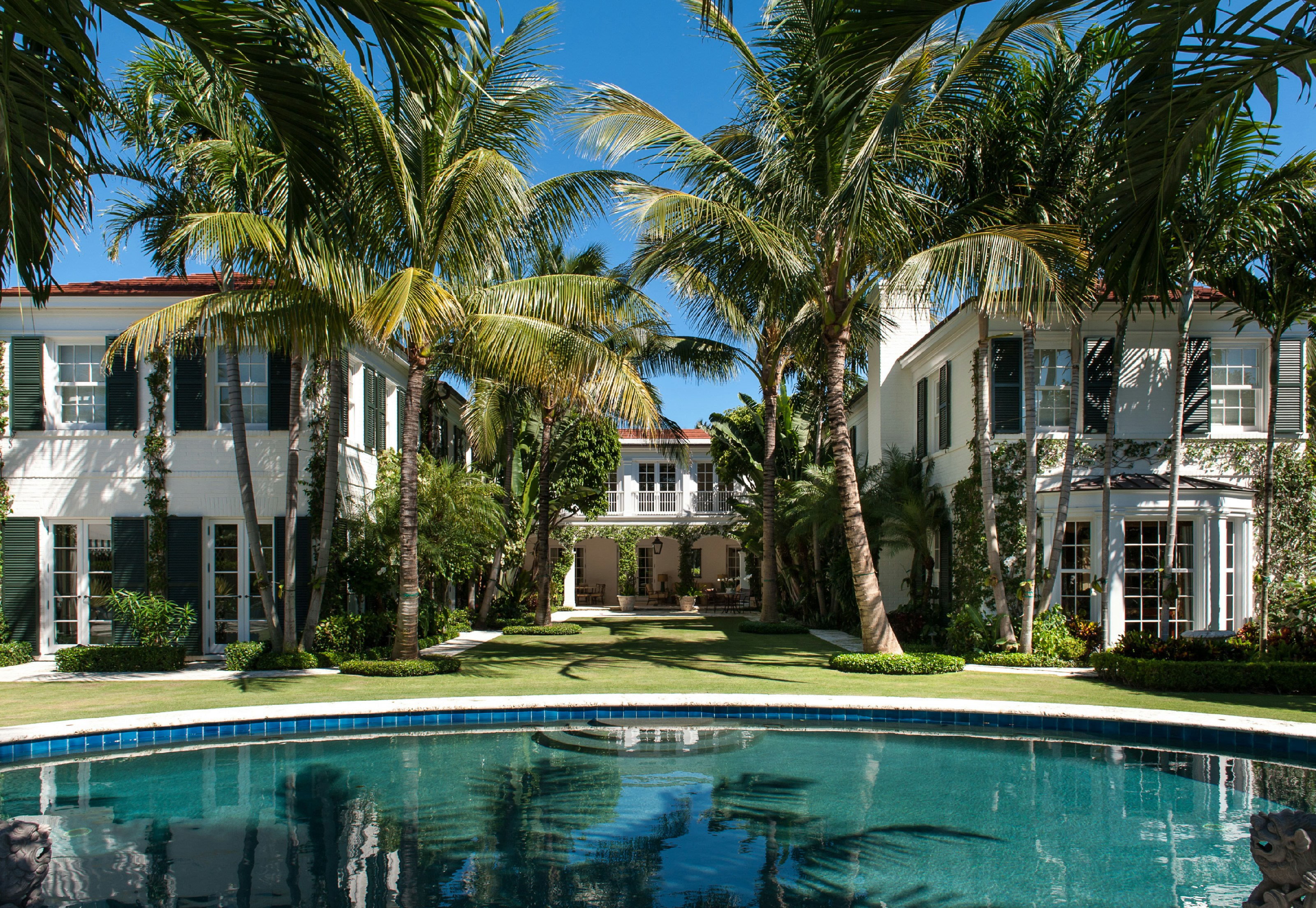 Maison unifamiliale pour l Vente à Oceanfront Estate North End, Palm Beach, Florida 33480 États-Unis