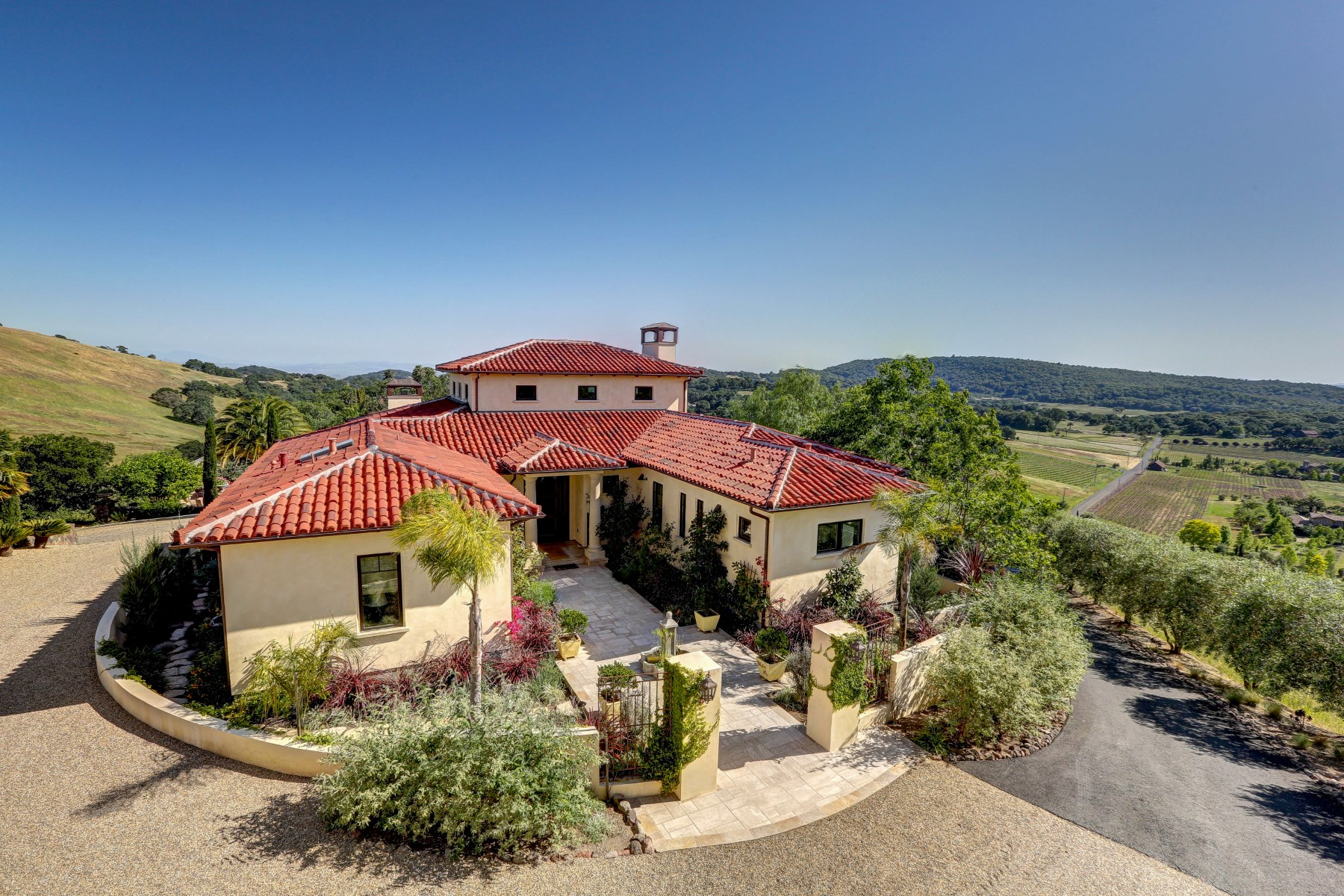 Single Family Home for Sale at Cypress Hill Farm 5180 Lovall Valley Loop Rd Sonoma, California, 95476 United States