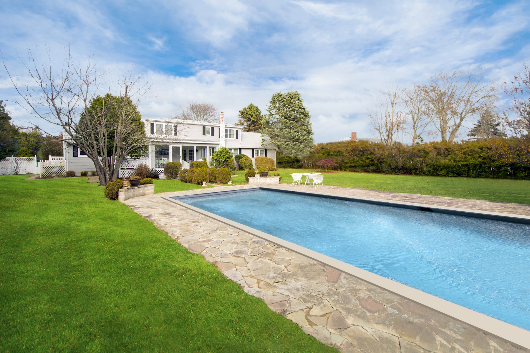 Property Of Updated Farmhouse with Heated Pool
