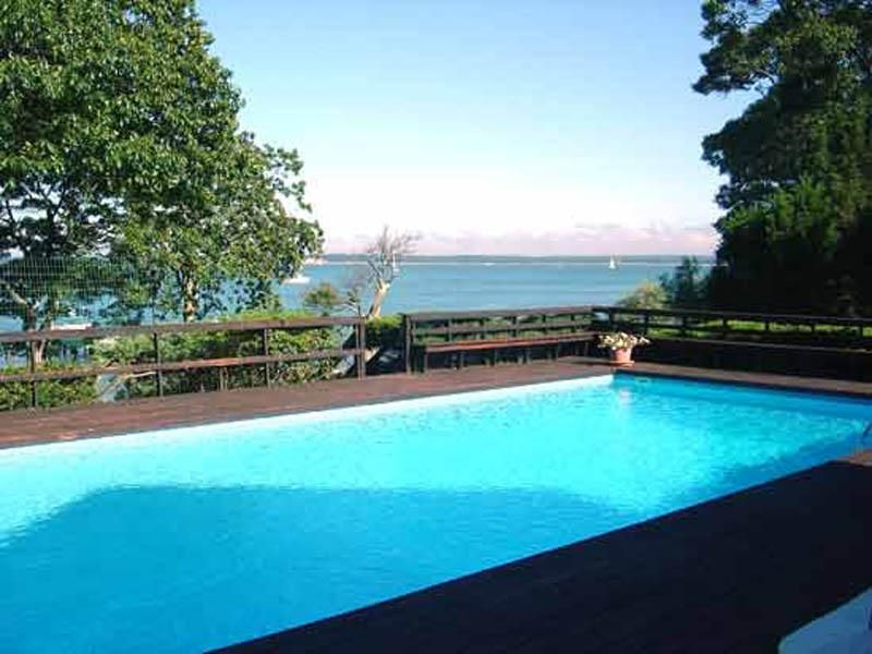 Single Family Home for Rent at Spectacular Waterfront Home Sag Harbor, New York 11932 United States