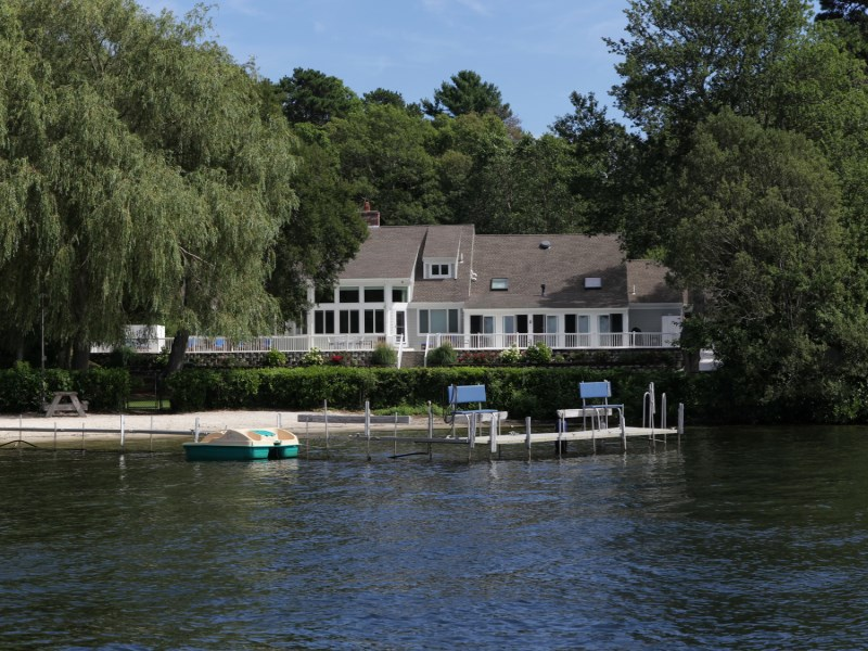 Single Family Home for Sale at Waterfront Estate on Lake Wequaquet 190 Conners Road Centerville, Massachusetts 02632 United States